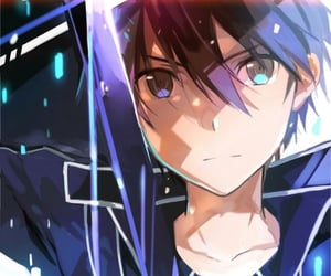 sword art online, anime, and handsome image