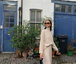 street style, everyday look, and wide leg pants image