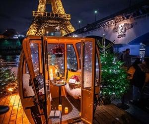 christmas, holiday, and paris image