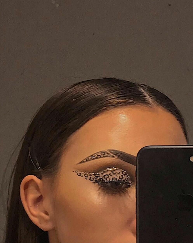 eyeliner, highlighter, and makeup image