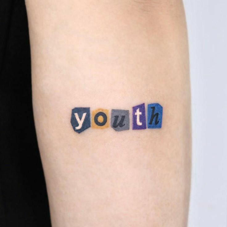 tattoo and youth image