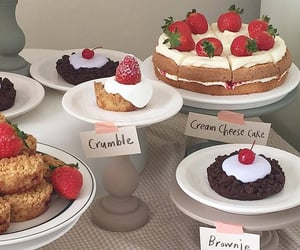 cake, food, and delicous image