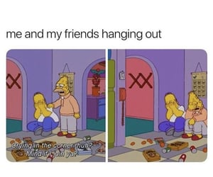 funny, friends, and hang out image
