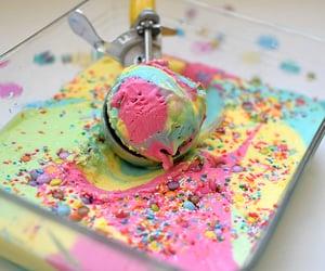 dessert, ice cream, and sweet image