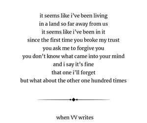 heartbreak, poem, and sad love image