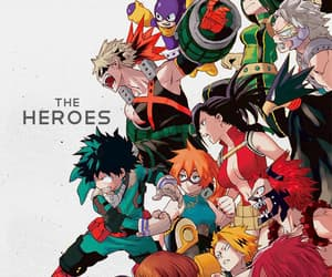 anime, bnha, and article image