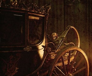 carriage, fantasy, and fairytale image