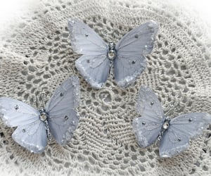 butterflies, winter, and butterfly image
