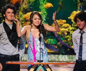jonas brothers, miley cyrus, and nick jonas image