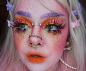 makeup, fairy makeup, and instagram mua image