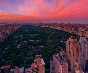buildings, Central Park, and new york image