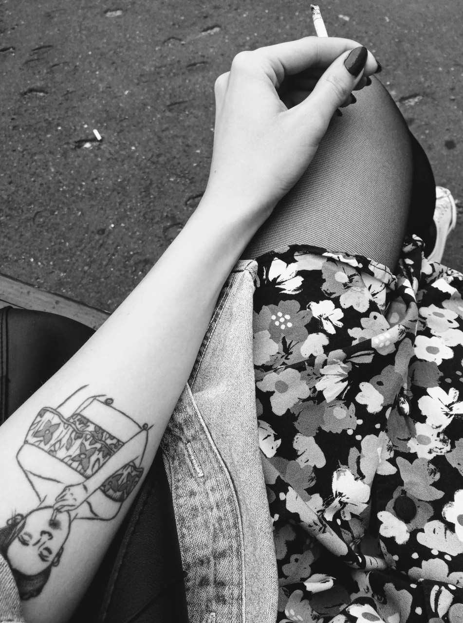 cigarette, flower power, and article image