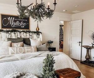 christmas, decor, and shabby image