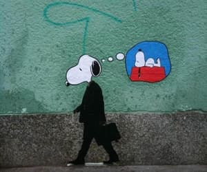 snoopy and work image