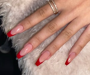 ballerina, long nails, and unghie image