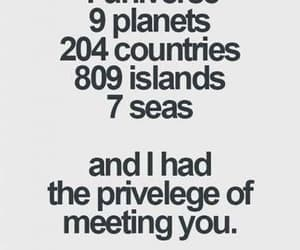 7 seas, how romantic, and meeting you image
