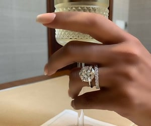 engagement, luxury, and ring image