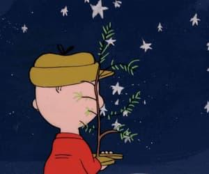 1960s, charlie brown, and christmas tree image
