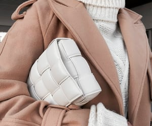 bag, coat, and style image