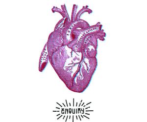 anatomy, glitch, and heart image