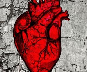 aesthetics, broken heart, and hearts image