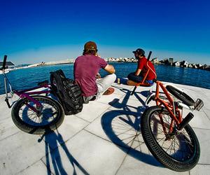 boy, bike, and photography image