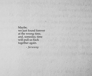 forever, found, and poetry image
