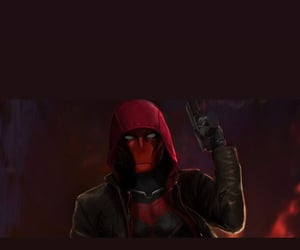 red hood, titans, and jason todd image