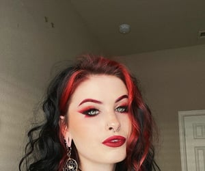 black hair, aesthetic, and alternative image