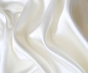 white, silk, and wallpaper image
