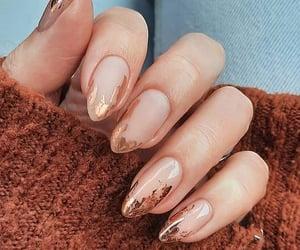 girls, nails, and acrylic nails image