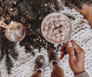 winter, aesthetic, and christmas image