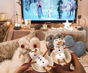 christmas, frozen, and winter image