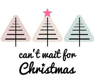 christmas, Christmas time, and trees image