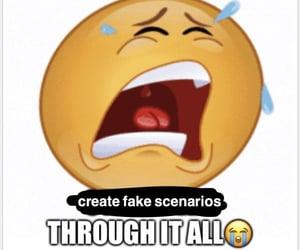 meme and fake scenarios image