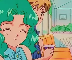 anime, 90s anime, and michiru image