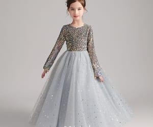 birthday dress, sequin dress, and little girl dress image