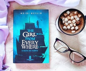 book, journey, and the girl from everywhere image