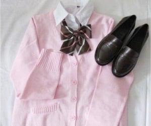 kawaii, pink, and uniform image