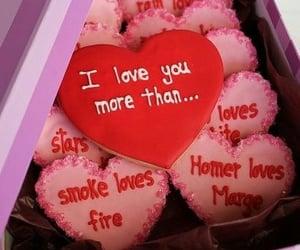love, Cookies, and food image