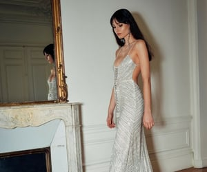 chic, dress, and elegant image