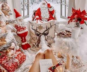 christmas, gifts, and holiday image