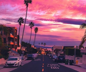 colors, pink, and skies image