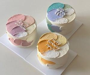 cake, dessert, and green image