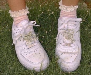 shoes, aesthetic, and green image