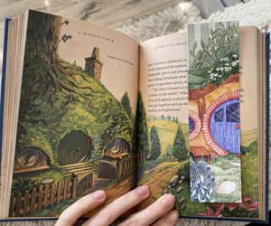 bookmark, tolkien, and etsy image