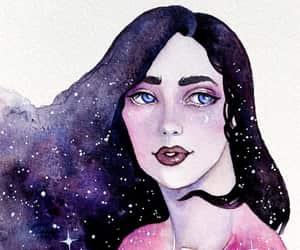 art, celestial, and mythology image