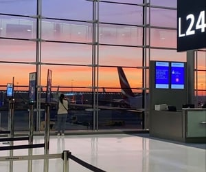 aesthetic, airport, and alternative image
