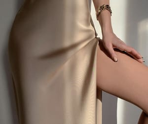 amazing, beige, and dress image