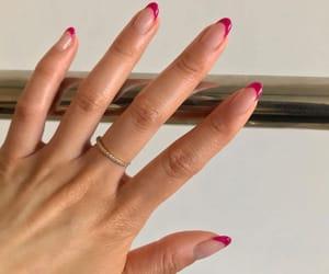 fashion, pink, and nail art image